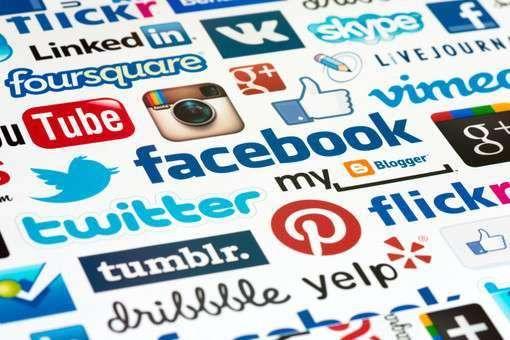 логотипы соц сетей
